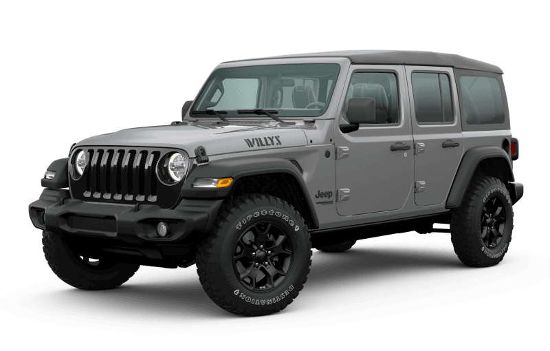 2020 Jeep® Wrangler Unlimited Willys Edition - Sting‑Grey