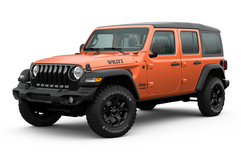 2020 Jeep® Wrangler Unlimited Willys Edition - Punk 'n Metallic