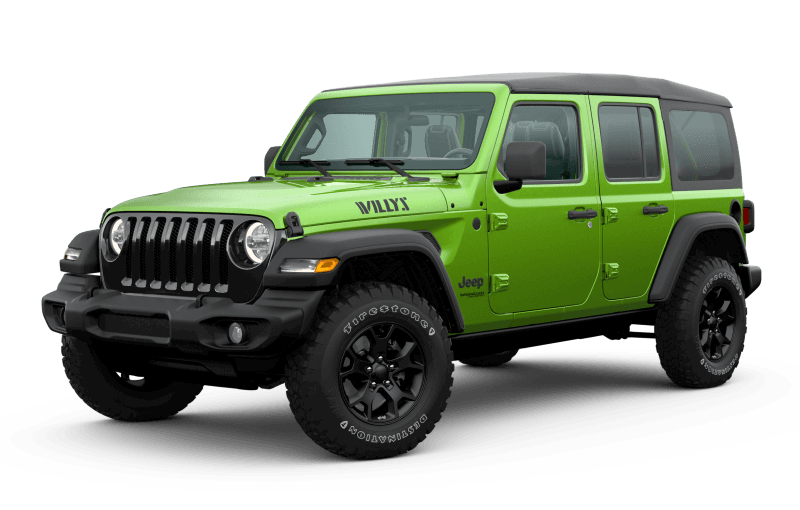 2020 Jeep® Wrangler Unlimited Willys Edition - Mojito