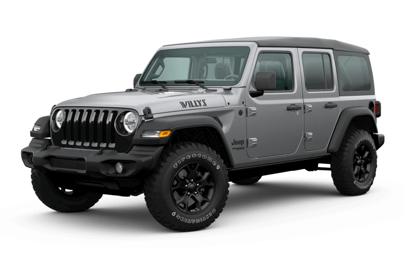 2020 Jeep® Wrangler Unlimited Willys Edition - Billet Metallic
