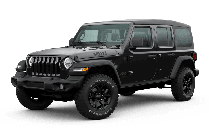 2020 Jeep® Wrangler Unlimited Willys Edition - Black