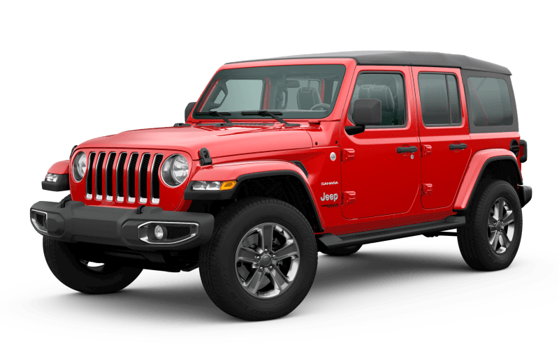 2020 Jeep® Wrangler Unlimited Sahara - Firecracker Red
