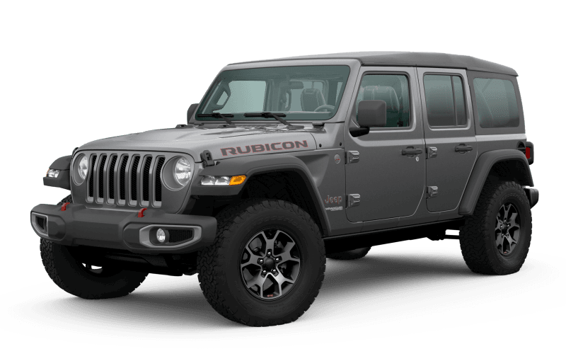2020 Jeep® Wrangler Unlimited Rubicon - Granite Crystal