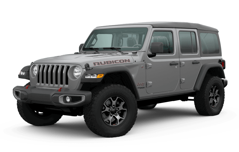 2020 Jeep® Wrangler Unlimited Rubicon - Sting‑Grey