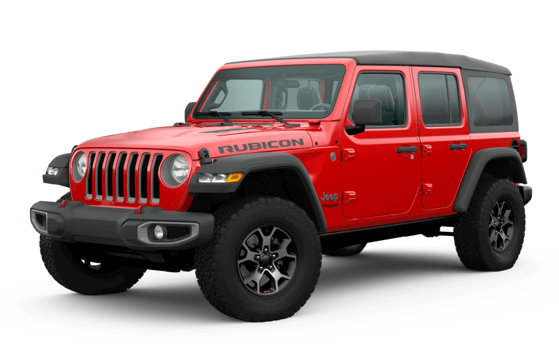 2020 Jeep® Wrangler Unlimited Rubicon - Firecracker Red