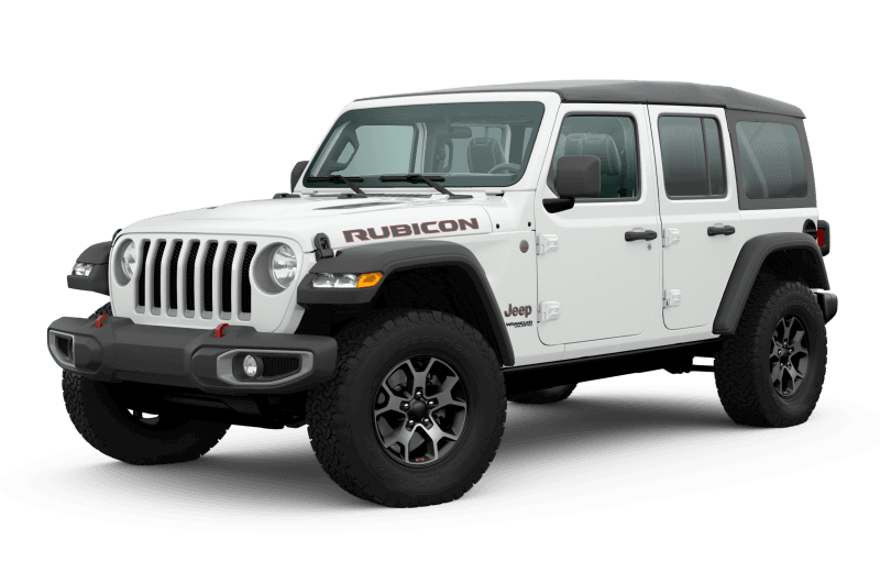 Jeep® Wrangler 2020 Unlimited Rubicon - Blanc éclatant
