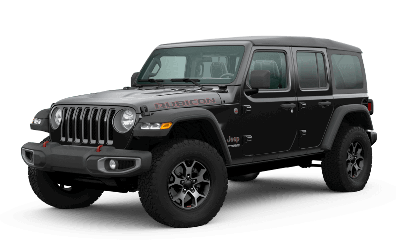 Jeep® Wrangler 2020 Unlimited Rubicon - Noir