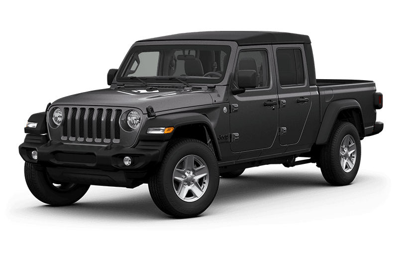 All-New 2020 Jeep® Gladiator Sport S - Granite Crystal Metallic (Late availability)