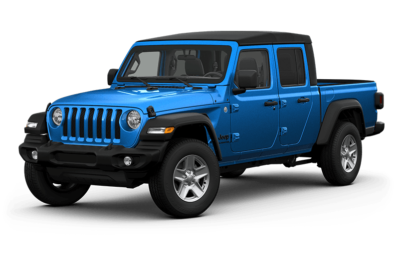 All-New 2020 Jeep® Gladiator Sport S - Hydro Blue (Late availability)