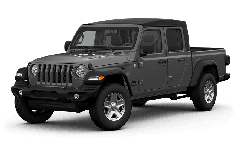 All-New 2020 Jeep® Gladiator Sport S - Sting-Grey (Late availability)