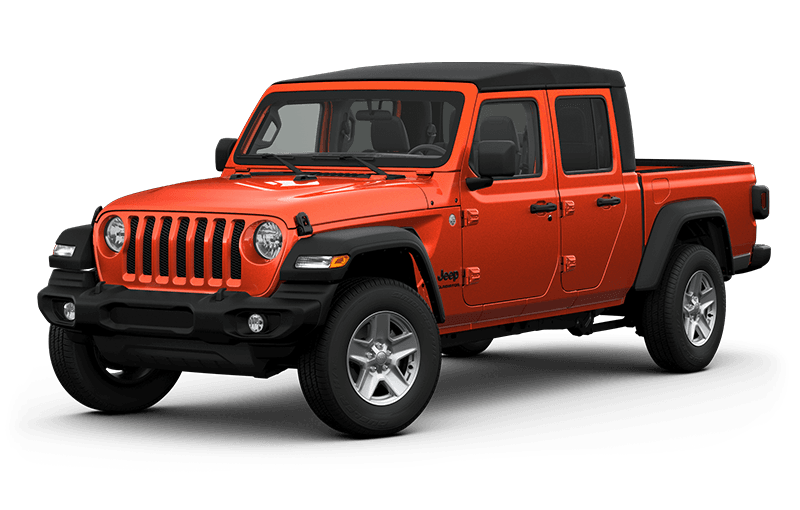 All-New 2020 Jeep® Gladiator Sport S - Punkn Metallic (Late availability)