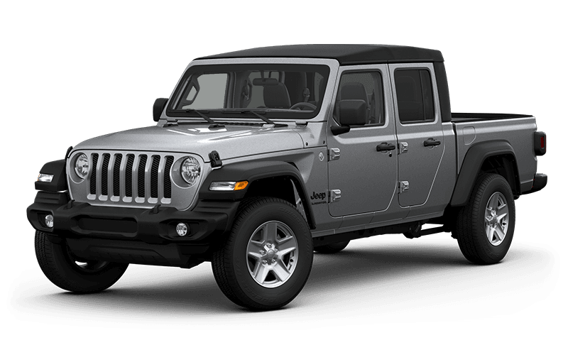 All-New 2020 Jeep® Gladiator Sport S - Billet Metallic