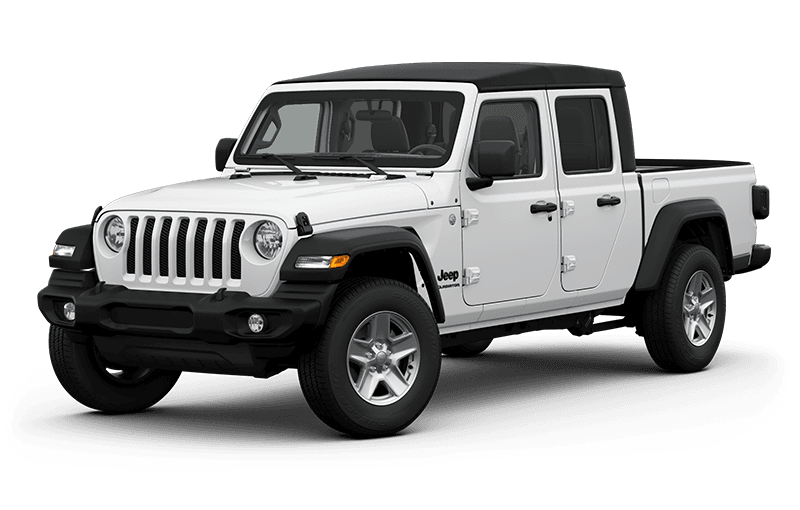 All-New 2020 Jeep® Gladiator Sport S - Bright White