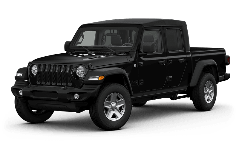 All-New 2020 Jeep® Gladiator Sport S - Black