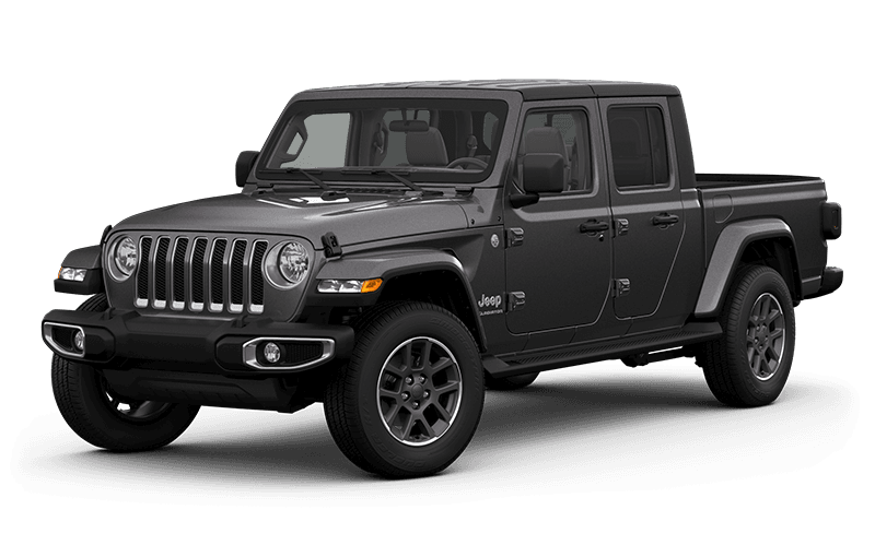 All-New 2020 Jeep® Gladiator Overland - Granite Crystal Metallic (Late availability)