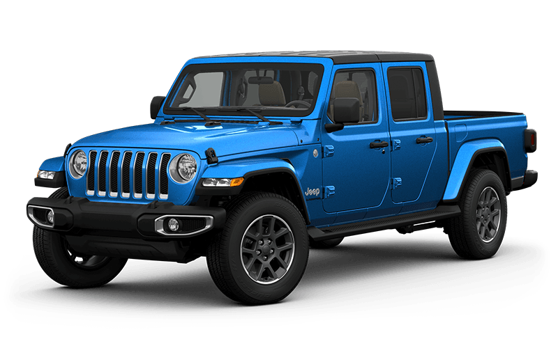 All-New 2020 Jeep® Gladiator Overland - Hydro Blue (Late availability)