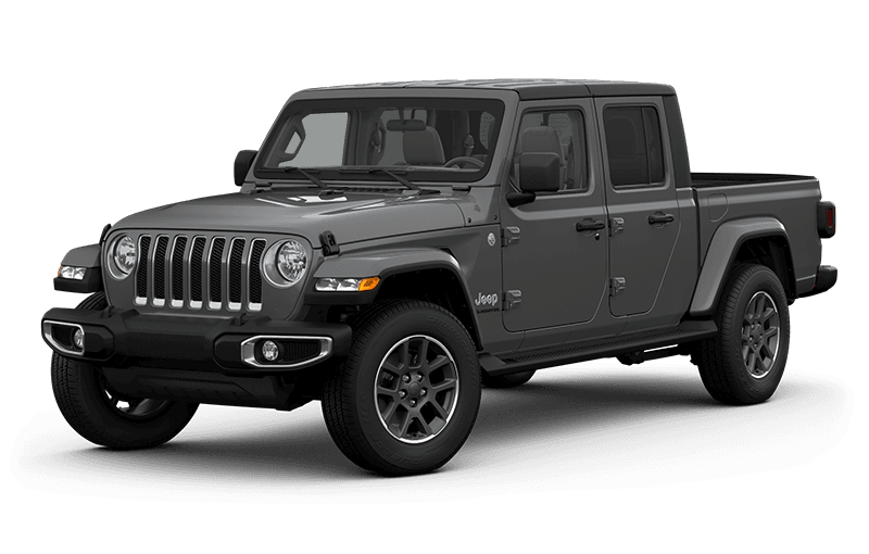 All-New 2020 Jeep® Gladiator Overland - Sting-Grey (Late availability)