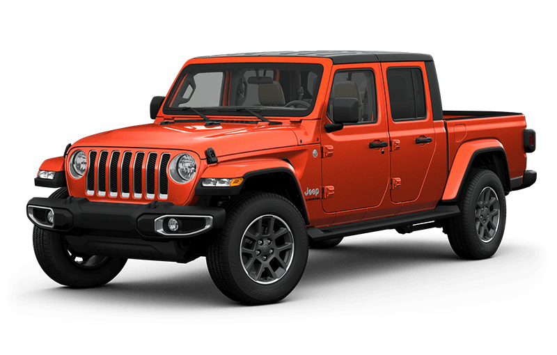 All-New 2020 Jeep® Gladiator Overland - Punkn Metallic (Late availability)