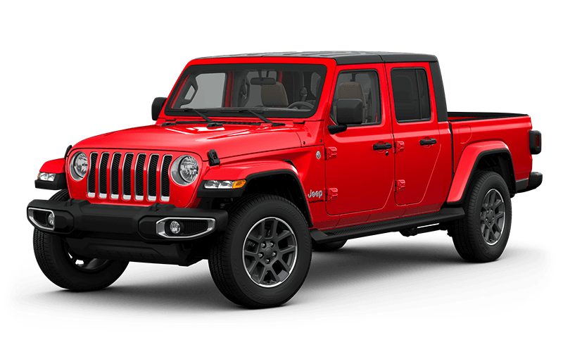 All-New 2020 Jeep® Gladiator Overland - Firecracker Red