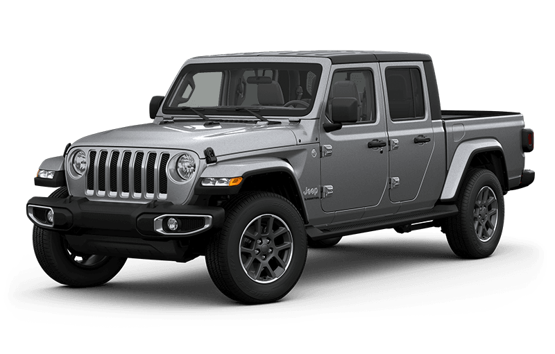 All-New 2020 Jeep® Gladiator Overland - Billet Metallic