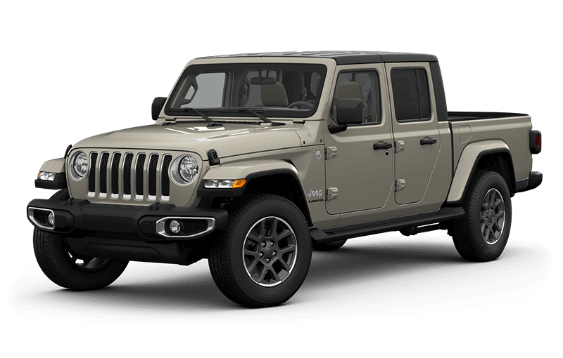 All-New 2020 Jeep® Gladiator Overland - Gobi  (Late availability)