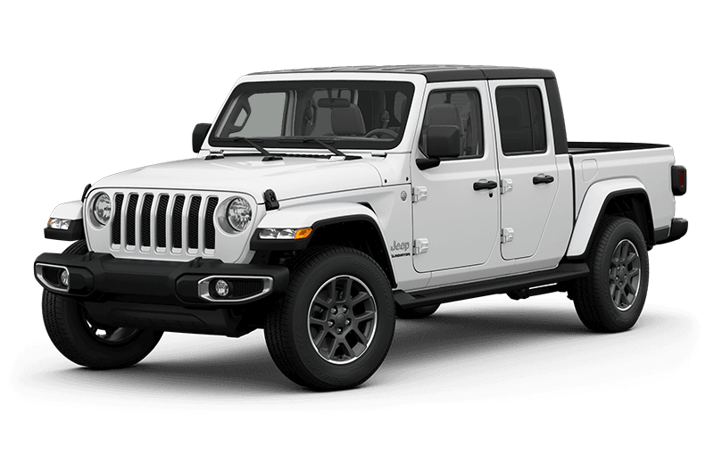 All-New 2020 Jeep® Gladiator Overland - Bright White