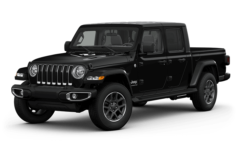 All-New 2020 Jeep® Gladiator Overland - Black