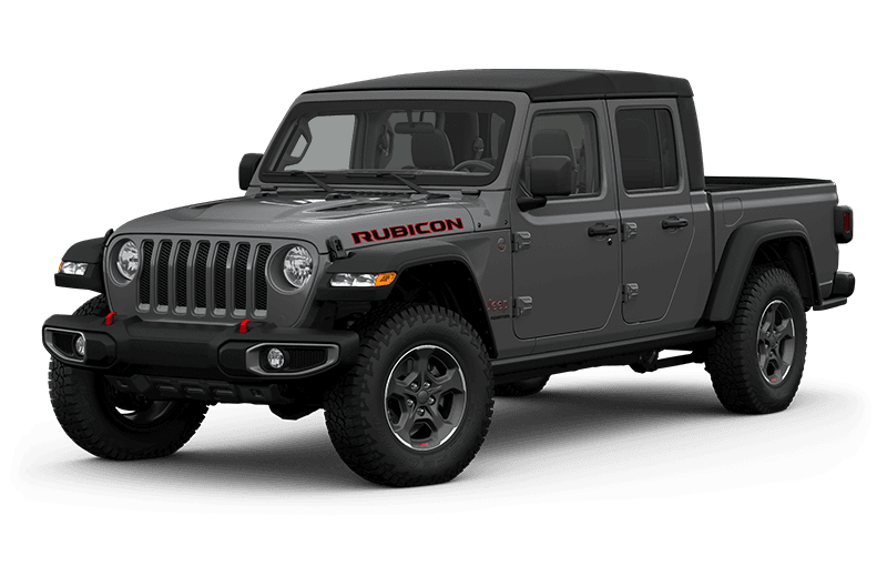 All-New 2020 Jeep® Gladiator Rubicon - Sting-Grey (Late availability)