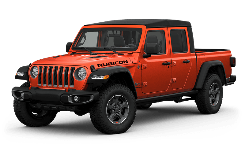 All-New 2020 Jeep® Gladiator Rubicon - Punkn Metallic (Late availability)