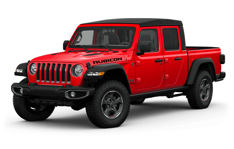 All-New 2020 Jeep® Gladiator Rubicon - Firecracker Red