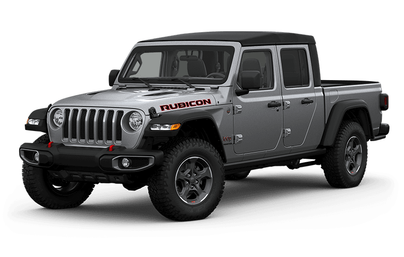 All-New 2020 Jeep® Gladiator Rubicon - Billet Metallic
