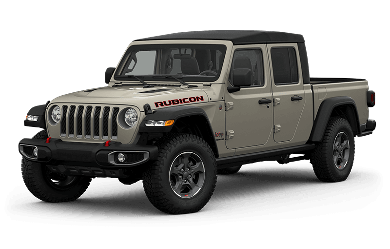All-New 2020 Jeep® Gladiator Rubicon - Gobi  (Late availability)