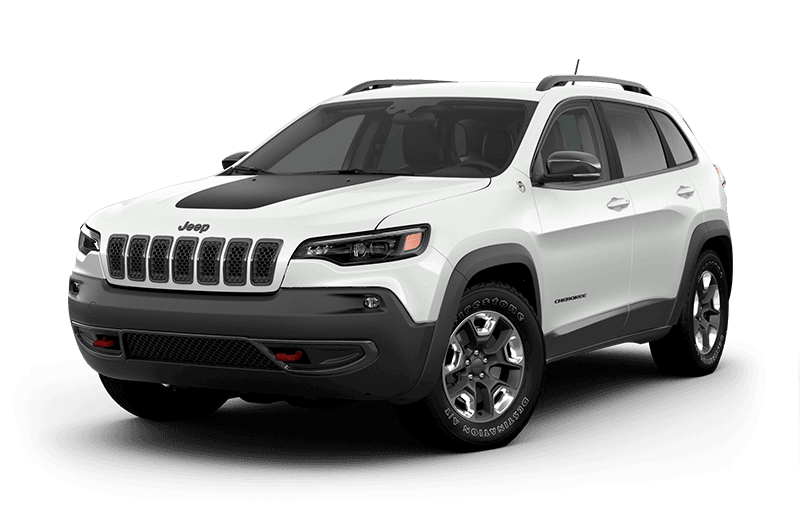 2020 Jeep® Cherokee Trailhawk® - Bright White