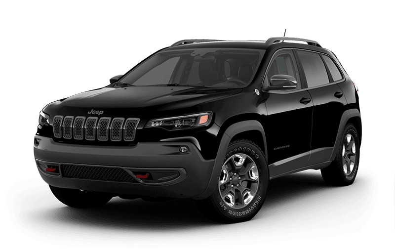 2020 Jeep® Cherokee Trailhawk® - Diamond Black Crystal Pearl
