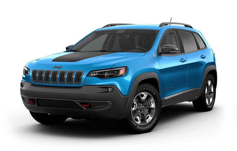 2020 Jeep® Cherokee Trailhawk® Elite - Hydro Blue Pearl
