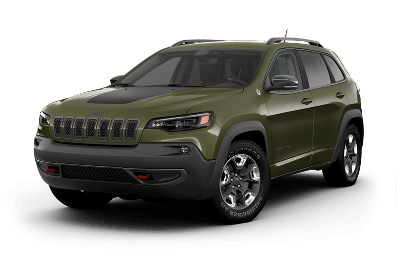 2020 Jeep® Cherokee Trailhawk® Elite - Olive Green Pearl