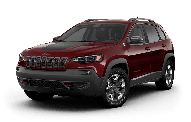 2020 Jeep® Cherokee Trailhawk® Elite - Velvet Red Pearl