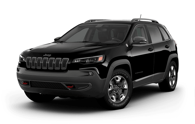 2020 Jeep® Cherokee Trailhawk® Elite - Diamond Black Crystal Pearl