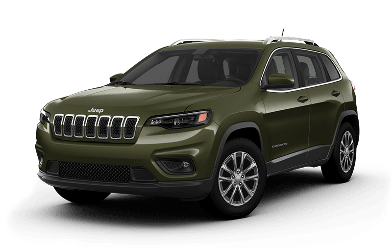 2020 Jeep® Cherokee North - Olive Green Pearl
