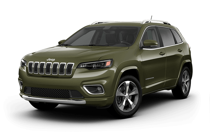 2020 Jeep® Cherokee Limited - Olive Green Pearl