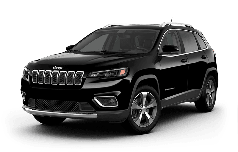 2020 Jeep® Cherokee Limited - Diamond Black Crystal Pearl