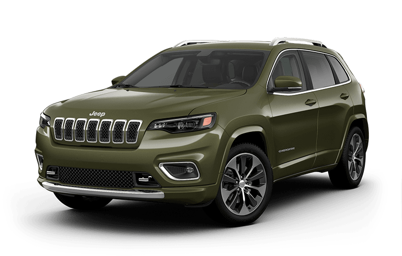 2020 Jeep® Cherokee Overland® - Olive Green Pearl