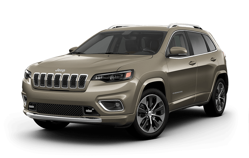 2020 Jeep® Cherokee Overland® - Light Brownstone Pearl