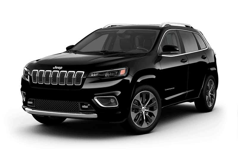 2020 Jeep® Cherokee Overland® - Diamond Black Crystal Pearl