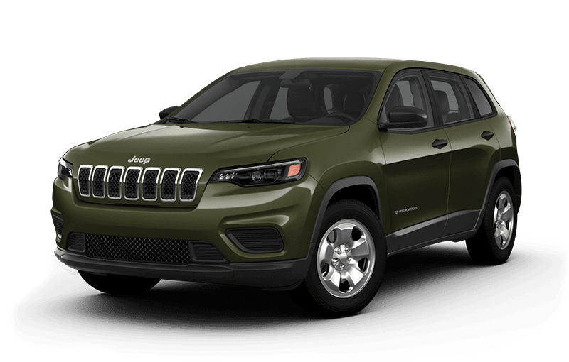 2020 Jeep® Cherokee Sport - Olive Green Pearl