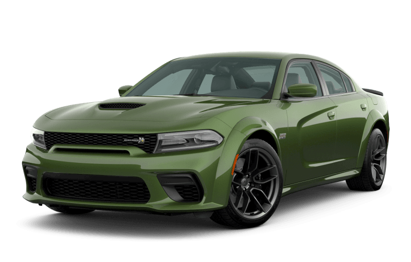Dodge Charger 2020 Scat Pack 392 Widebody - Vert métallisé F8