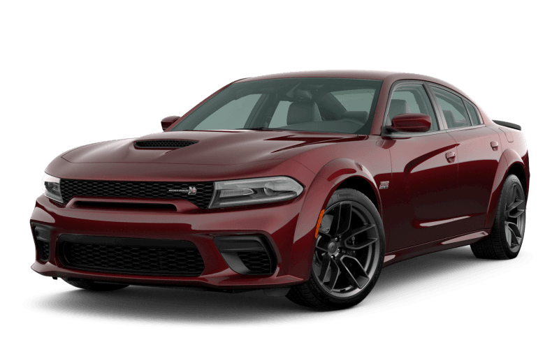 Dodge Charger 2020 Scat Pack 392 Widebody - Couche nacrée rouge intense