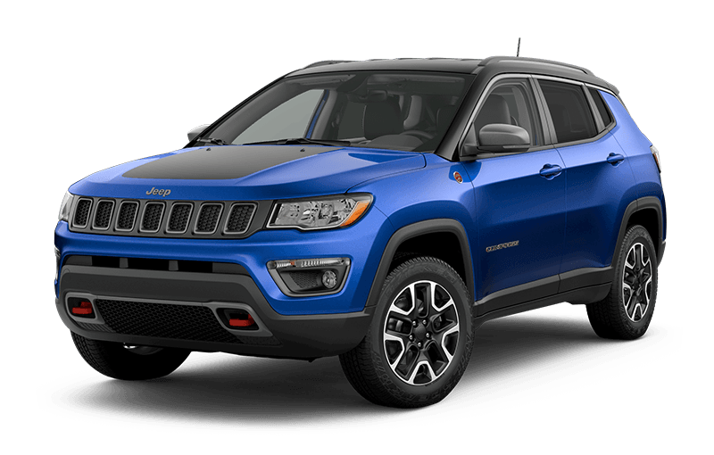 2020 Jeep® Compass Trailhawk® - Laser Blue Pearl