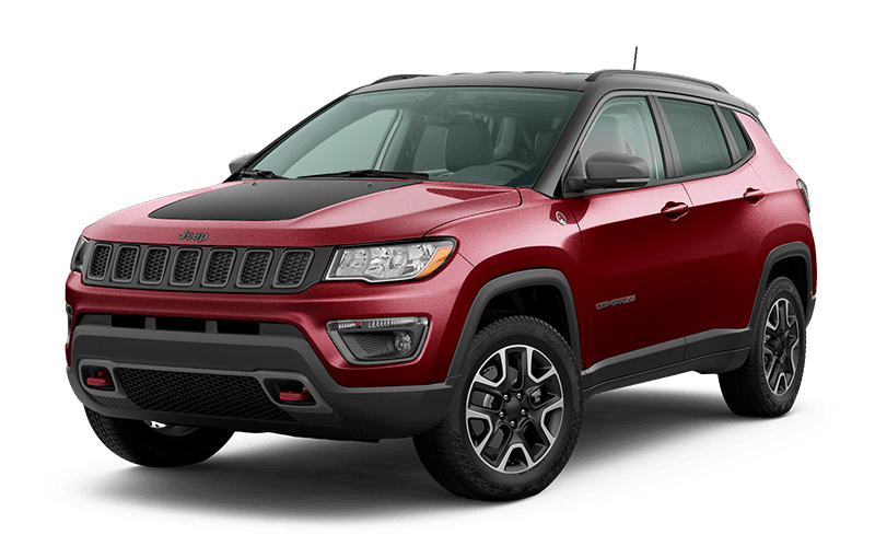 2020 Jeep® Compass Trailhawk® -  Velvet Red Pearl