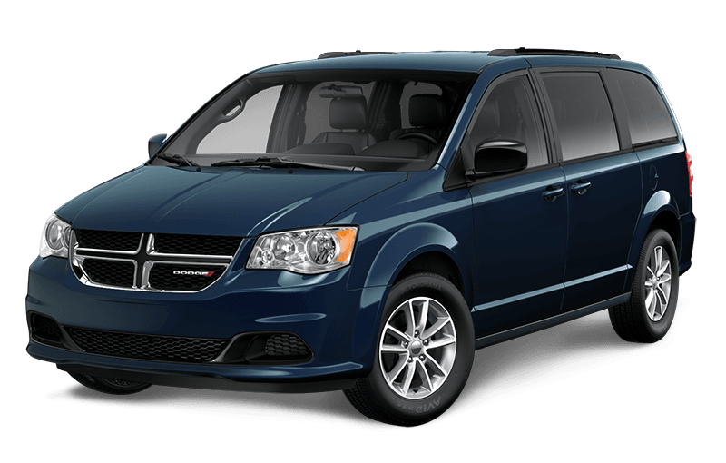 2020 Dodge Grand Caravan SXT Plus - Indigo Blue Pearl